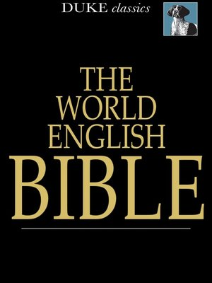 cover image of The World English Bible
